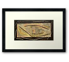 To Be Rustic Framed Print
