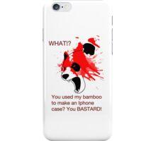 Panda and his Bamboo iPhone Case/Skin