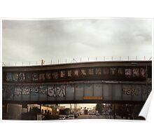 Bombed bridges original. Poster