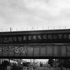 Bombed bridges.  by Rudy Caballero
