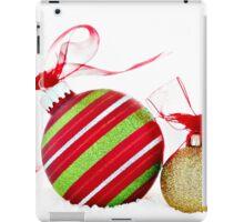 Christmas Ornaments Balls Contemporary iPad Case/Skin