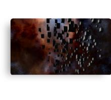 Borg Attack Fleet Canvas Print
