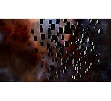 Borg Attack Fleet Photographic Print