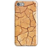 Footprint in the Cracked Earth iPhone Case/Skin