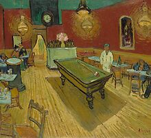 The Night Café by Vincent van Gogh by Robert Partridge