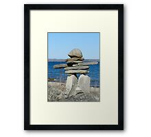 You are on the right path Framed Print