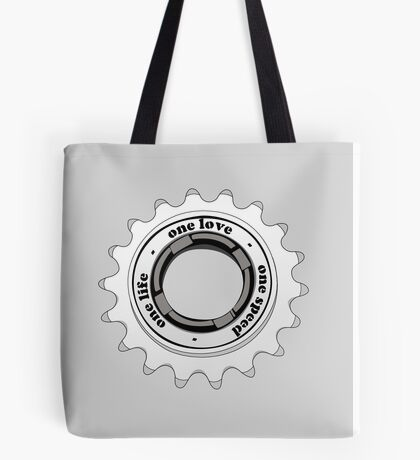 One speed Tote Bag