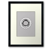 One speed Framed Print