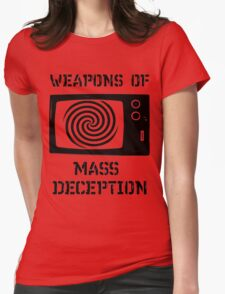 Weapons of Mass Deception Womens Fitted T-Shirt