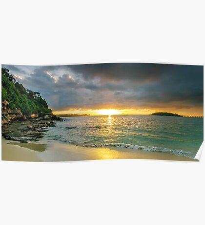 Rays of Congwong Bay Poster