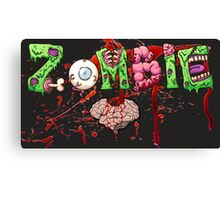 Zombie love or is it brains? Canvas Print