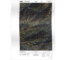 USGS Topo Map Washington State WA Mount Olson 20110503 TM Poster