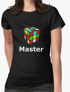 Rubix cube master Womens Fitted T-Shirt