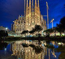 La Sagrada Familia by Stian Rekdal