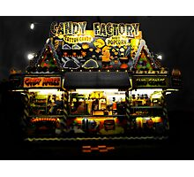 The Carnival Snack Shop Photographic Print