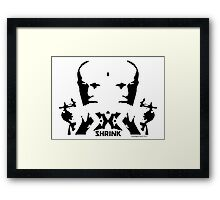 The Inkblot Framed Print
