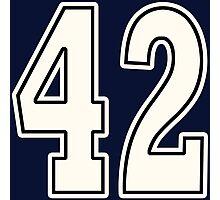 42 For Dark Photographic Print