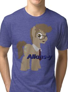 10th Doctor Whooves Tri-blend T-Shirt