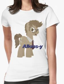 10th Doctor Whooves Womens Fitted T-Shirt