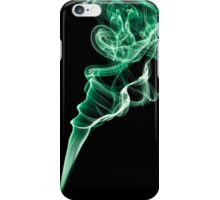 Smoke (Green) iPhone Case/Skin
