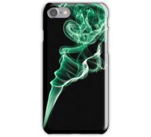 Smoke (Green) iPhone Case/Skin