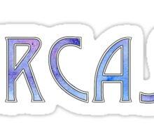 Sarcasm Watercolor Sticker