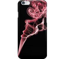 Smoke (Cherry red) iPhone Case/Skin