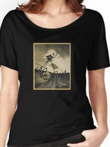 Original Illustrations War of the Worlds 2 Women's Relaxed Fit T-Shirt