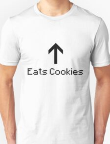 Eats Cookies T-Shirt
