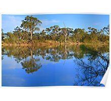 Murray River Scene, Mildura , Australia Poster
