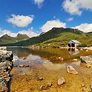Cradle Mountain and Boathouse, Tasmania Australia by bevanimage