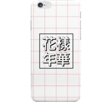 BTS album cover pink grid iPhone Case/Skin