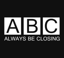 Always Be Closing by personalized