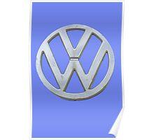 VW Kombi Logo Poster