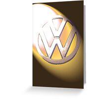 Spotlight on VW Kombi Greeting Card