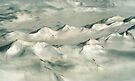Transantarctic Range from the Air by Carole-Anne