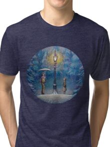 Narnia Magic Lantern Tri-blend T-Shirt