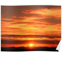 Sunrise over Jeddah Poster