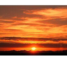 Sunrise over Jeddah Photographic Print