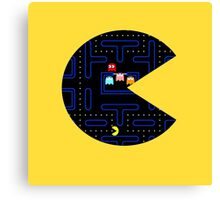 Seethrough Pacman Canvas Print
