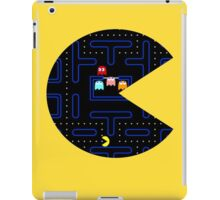 Seethrough Pacman iPad Case/Skin