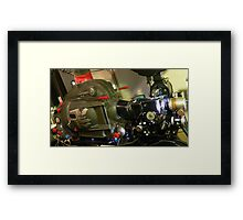 35mm Film Projector Framed Print
