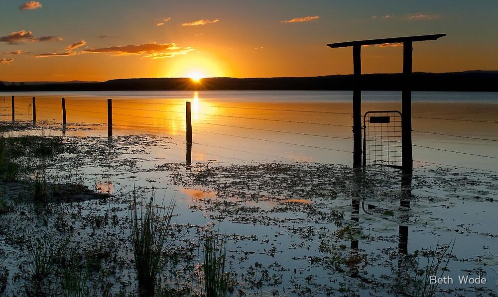 Lake Clarendon 2 - Lockyer Valley Qld Australia by Beth  Wode