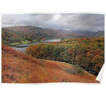 Autumn in Grasmere Poster