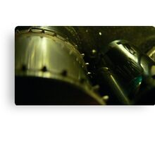 35mm film projector sprocket Canvas Print