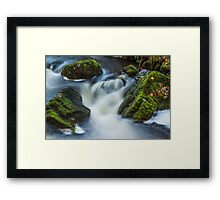 Three rocks  Framed Print