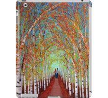 Autumn Birch trees iPad Case/Skin