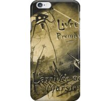 H.G. Wells War of the Worlds iPhone Case/Skin