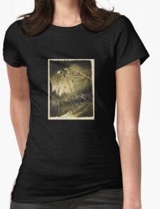 H.G. Wells War of the Worlds Womens Fitted T-Shirt