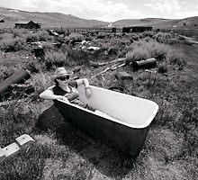 Bathing At Bodie by Natalie Ord